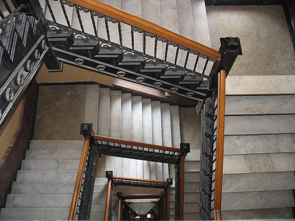 Escalera glosario ilustrado de arte arquitect nico for Escaleras en u