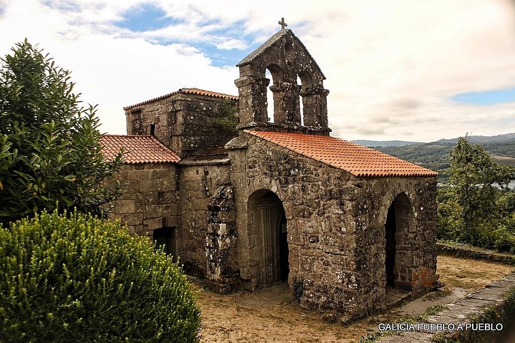Baños Romanos De Bande: el crucero de la iglesia de Santa Comba de Bande (Orense) Siglo VII